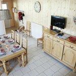Salon/séjour gîte Pastorale - télé écran plat et lecteur DVD
