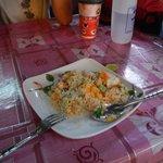お昼で食べたカオパット