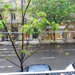 vistas balcón habitación