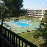 Diana 1 pool veiw from room
