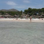 Alcudia beach great for kids as it isnt deep lovely and clean could almost be tropical