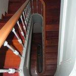 escaleras apartamento