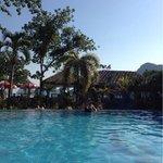Hotel's pool