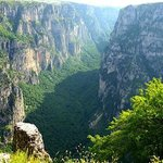 Vikos Gorge from Oxia viewpoint