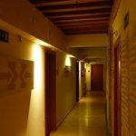 Corridoio camere primo piano