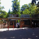 慕尼黑动物园门口