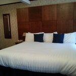 Lovely huge, comfy bed