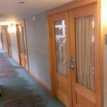 Guest room double doors