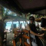 Bananarama, Roatan Island at the bar