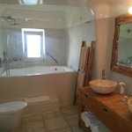 The bathroom... huge!