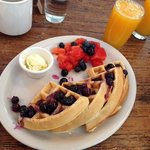 Waffles - delicious choice!