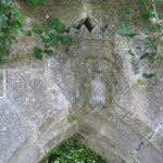 Archway near the monks fishing hut