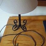 Lamp with no plug