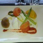 assiette aux 4 tomates