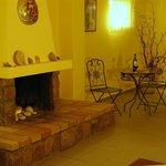 DIAMOND PALACE , fireplace