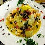 Shrimp and scallops risotto...