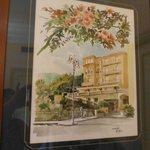 Watercolour of the Hotel