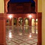 Inner Courtyard after a rain shower