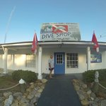 Das Dive Center direkt am Hotel