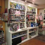 Vera Bradley Room - always a large selection