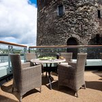 Waterford's only stunning rooftop terrace overlooking Reginald's Tower and the River Suir