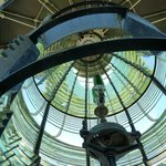 Inside view of the First Order Fresnel Lens