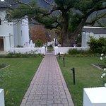 Beautiful gardens surrounding the hotel