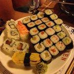 Piattata di sushi