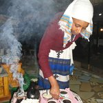Ethiopian coffee ceremony at Abyssinia, Nairobi