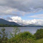 Loch Awe from our terrace