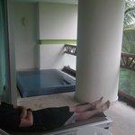 Personal deck pool