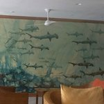 Finch Bay Eco Hotel Restaurant - Wall Mural