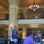 fun lobby - always had drinks & popcorn for us
