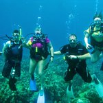 Family diving!
