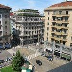 Вид с балкона на Largo Augusto