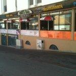 Eddis bar across the road
