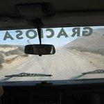 Taxi on La Graciosa