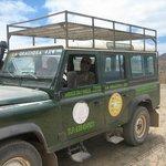 Our Taxi on La Graciosa