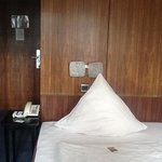 einzelzimmer im Hotel Arosa