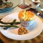 Cheese & Green onion Souffle