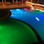 Multi color pool