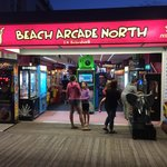 Beach Arcade North Store Front, June 2014