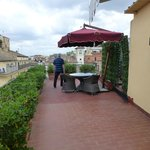 Roof terrace of the Cupolone Suite