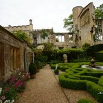 Old Castle and Knot Garden