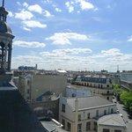 View from room 82, top floor