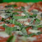 Taste of Naples... tomatoe and basil with fresh mozzarella