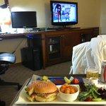 room service, please