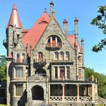 Historical Craigdarroch Castle in our backyard