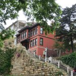 View of hotel from Osman Gazi Cd