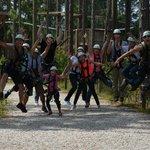 Zipline Jumping for Joy